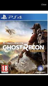 Ghost recon wildlands ps4 used £13.99 at Boomerang
