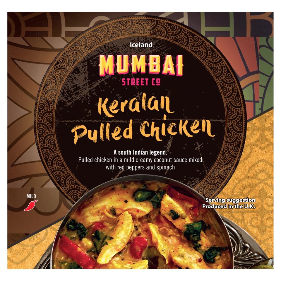 Iceland Mumbai Keralan Pulled Chicken 250g £1.50 @ Iceland
