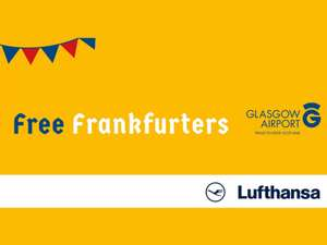 Free Frankfurters  in George Square Glasgow Today until 14:30