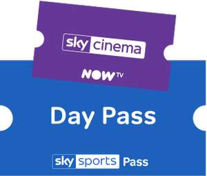 Now TV - 30 day Sky Cinema free trial with every Sky Sports Pass (Day Pass £7.98, Week £12.98, Month £33.98) - New customers only