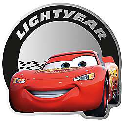 Disney Cars Mirror - 30 cm H x 30 cm W - £8 Delivered @ Tesco Direct / Sold by Graham & Brown