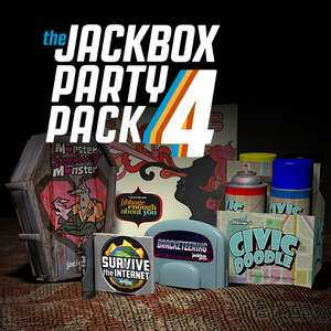 Jackbox Party Pack 4 (Steam - PC) £3.79 @ Fanatical