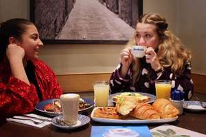 Carluccio's is offering free breakfast to those wearing a dressing gown on Saturday 31st March