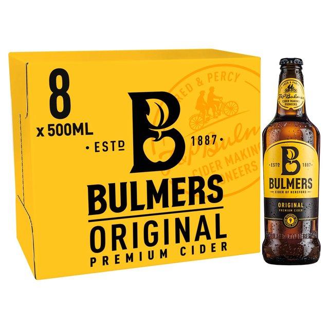 Bulmers Original Apple Cider 8 Bottle Pack £3.50 @ Asda Perth