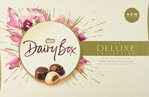 Dairy Box The Deluxe Chocolate Collection, 400 g (Pack of 8) a- £26.42 Delivered / £25.10 S&S @ Amazon