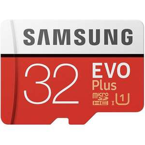 Samsung Evo+ 32GB Micro SDXC Card + Adapter  £8.54  Mymemory with code