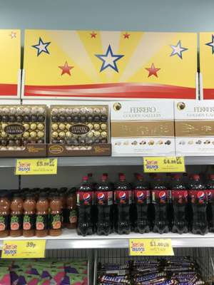 Ferrero Collection £5.99 / Golden Gallery £4.99 instore @ Home Bargains