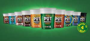 Pot noodles - All flavours 60p instore @ Tesco