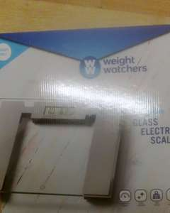Weightwatchers Electronic Bathroom Scales £1 instore @ B&M