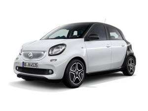 Smart ForFour for 4 Years 96.99 No Deposit (Term total £4655.52) @ Yes Lease