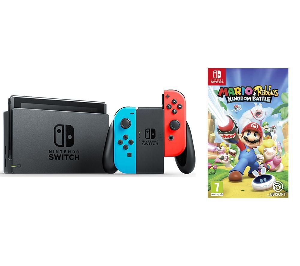 Nintendo Switch game bundle Mario Rabbids £279 @ Currys