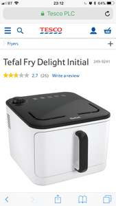 Tefal air dryer Fry Delight £34 - instore only Tesco