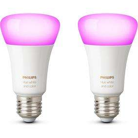 6 x Philips Hue White & Colour Ambiance B22 or E27 for £135.98 (£22.6 each) (3 for 2 offer with twin packs - 1 pack = £67.99) free delivery or click and collect @Maplin