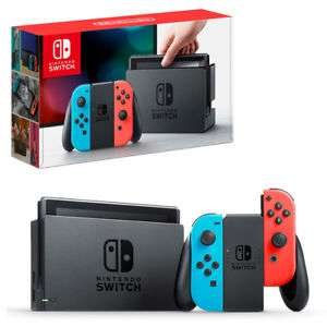 Nintendo Switch Neon/Grey £249.99 @ eBay Thenewpc