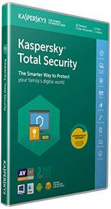 Kaspersky total security 2018 - 10 devices £21.99 @ Amazon