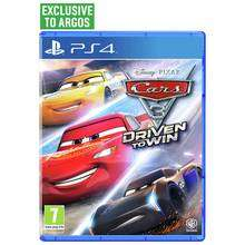 Cars 3 : Driven to Win [PS4/XO] £16.99 @ Argos