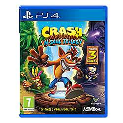 Crash Bandicoot [PS4] £20 // Call of Duty WWII £32.00 @ Tesco Direct