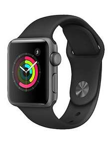 Apple watches starting at £249.99 (Series 1) plus £50.00 credit back @ Very