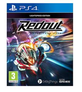 Redout , PS4/ Xbox, for £14.99 @ Game