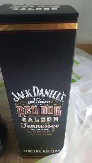 Jack Daniels red saloon – £20.00 @ Asda discount offer