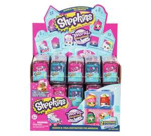 2 Shopkins in a pet pod - series 8, now 99p @ Argos