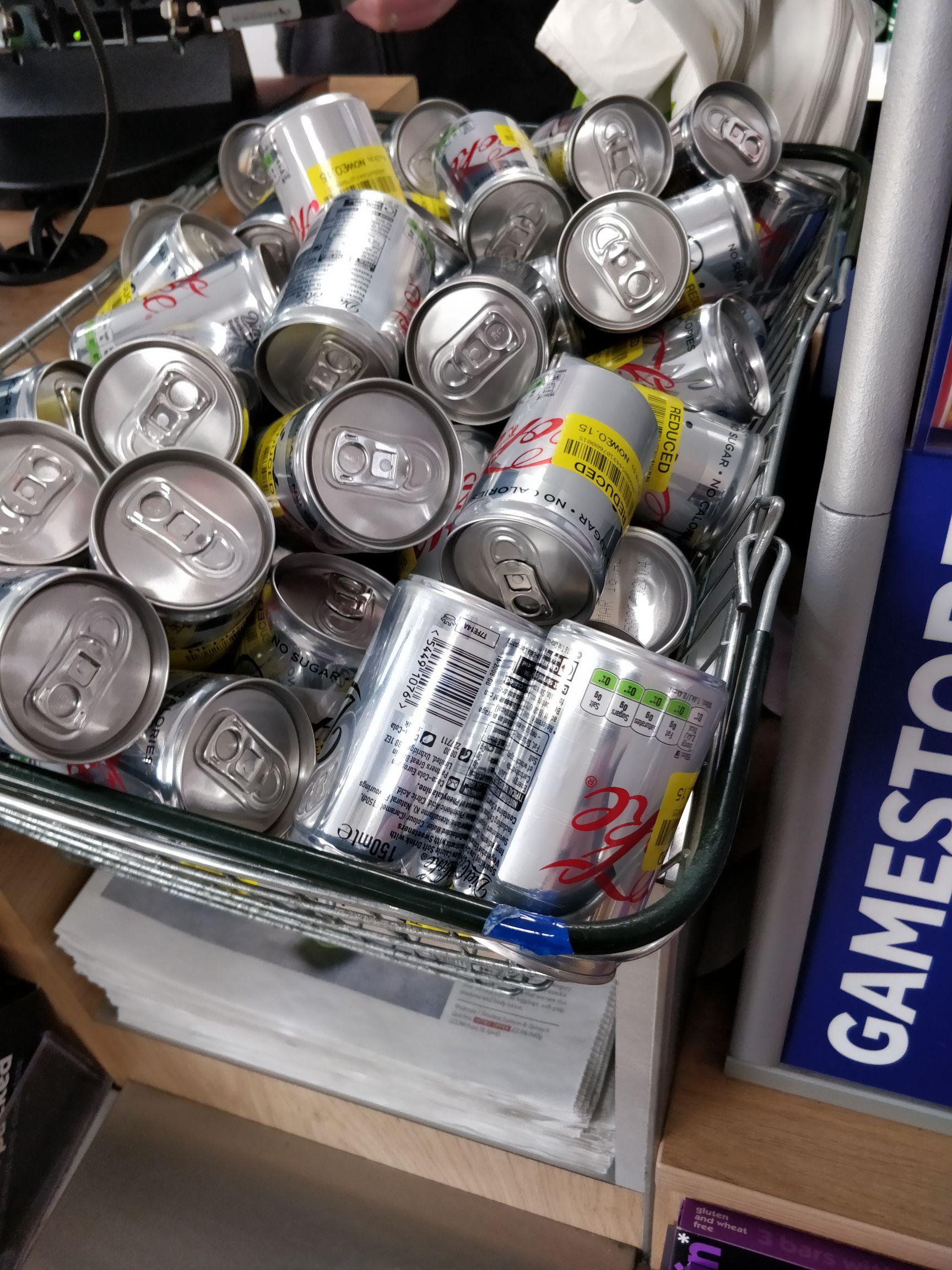 Diet Coke cans for 15p instore @ Waitrose