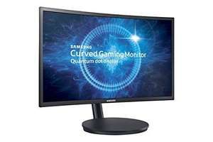 "Samsung C24FG70 24"" 144Hz 1ms MPRT Gaming Monitor – Matt Black £199.99 @ Amazon prime exclusive"