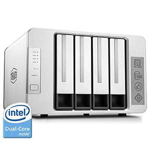 TerraMaster F4-220 NAS Server 4-Bay Intel Dual Core 2.41GHz 2GB RAM Network RAID Storage (Amazon Lightning Deal)