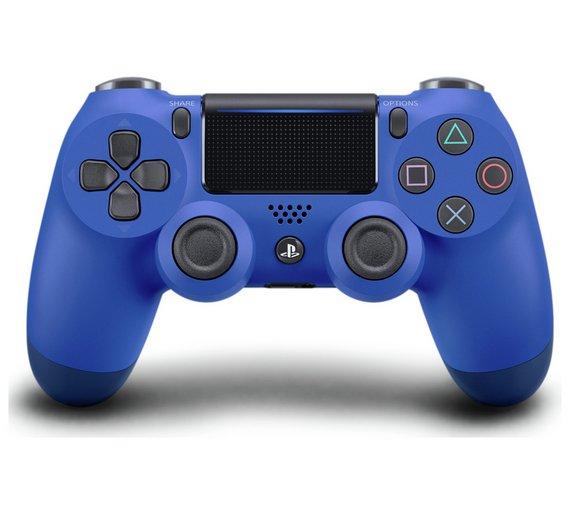 PS4 DualShock 4 V2 Wireless Controller - Red / Blue - £37.99 @ Argos