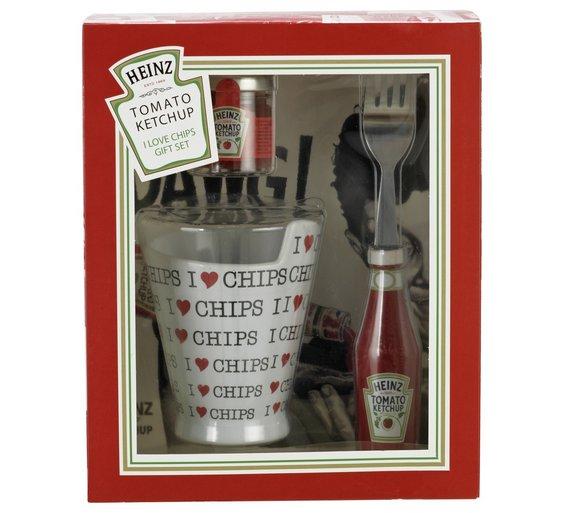 Heinz Ketchup I Love Chips Gift Set £3.24 **Original Price £14.99 @ Argos