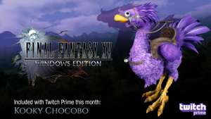 FREE Kooky Chocobo & More for Final Fantasy XV for Twitch members