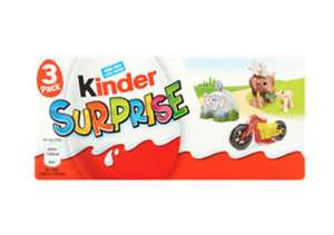 3 pack Kinder Surprise Eggs £1.50 @ Asda