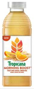 Tropicana morning boost smoothie - 4 bottles for £1 @ Heron Foods