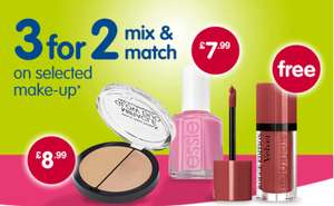 3 for 2 offers @ Boots