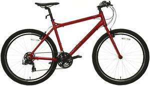 Carrera Axle Mens Hybrid Bike Bicycle Red Until 6PM today £144 with code at Halfords ebay