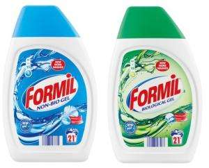 Formil Non-Bio and  2-in-1 gel 21 wash for only 99p in Lidl this weekend 24th + 25th March