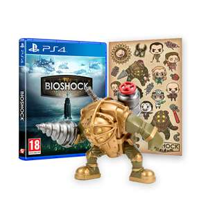 BioShock: The Collection PS4/Xbox - Big Daddy Vinyl Figure and Sticker Pack Bundle - £16.98 @ 2K games