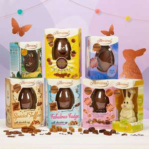 Thorntons Easter Bundle £25 with FREE standard delivery. £21.25 with code.