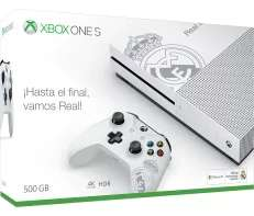 Xbox One S 500GB + Fifa 18 + 12 Months Xbox One Game Pass + 3 Months Xbox Live £143.04 @ Microsoft Store Spain (Via Gamesdeal)