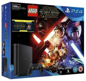 PlayStation 4 500GB Slim with LEGO Star Wars: The Force Awakens and The Force Awakens Blu-Ray (PlayStation 4) £210 @ Game