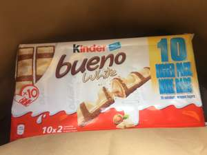 10 pack of Kinder Bueno white chocolate £2.50 in Heron (20 fingers)
