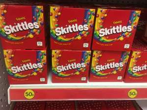 152g skittles present box reduced to 50p at poundland