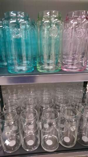 Large vases in different colours approx 30cm tall £3 in tesco - Handforth dean