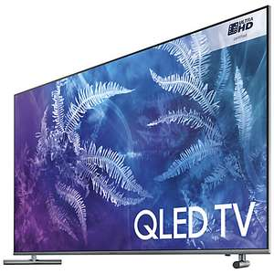 "Samsung QE55Q6F QLED HDR 1000 4K Ultra HD Smart TV, 55"" with TVPlus/Freesat HD & 360 Design, Ultra HD Certified, Black £895 @ John lewis"