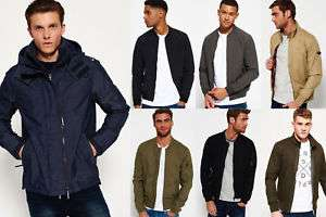 New Mens Superdry Longhorn Harrington Jacket Sand £29.99 (£23.99 With 20% Off) + Loads of other Superdry jackets @ Superdry ebay