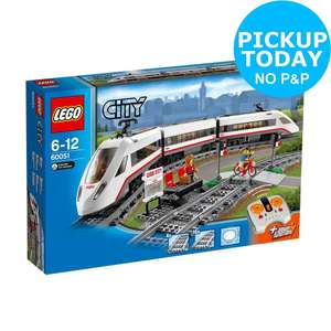 Lego city passenger train on Argos eBay with code for £55.99