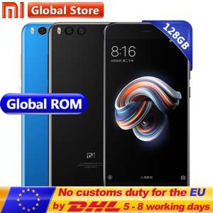 "Xiaomi Mi Note 3 | 6GB 128GB SD660 5.5"" 1920x1080 3500MAh 12.0MP/16.0MP Dual Camera £223 @ Mi Global Store AliExpress"