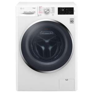 LG F4J6VY2W Freestanding Washing Machine, 9kg Load, A+++ Energy Rating, 1400rpm Spin, White £429 @ John Lewis