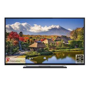 Toshiba 49L3753 49 Inch Smart Full HD LED TV with Freeview Play Catalogue Number: £349 @ Tesco
