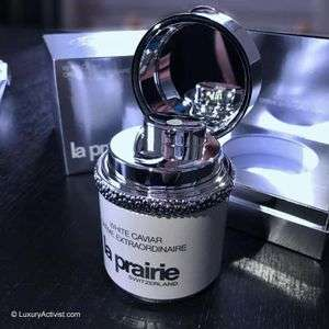 Free Sample of La Prairie White Caviar Creme Extraordinaire